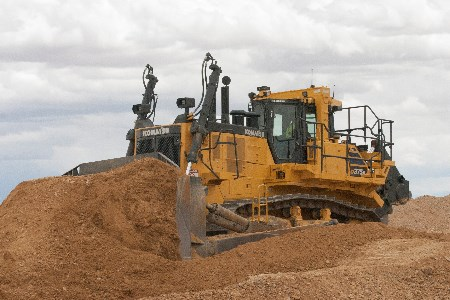 Komatsu America introduces the new D375A-8 crawler dozer