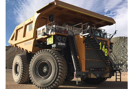 Collahuasi copper mine receives Liebherr T 284