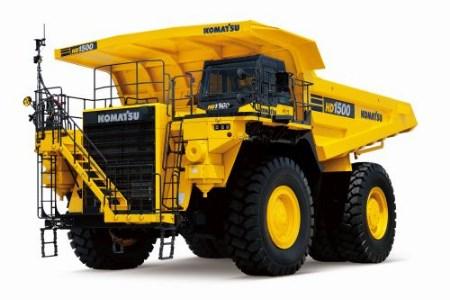 Komatsu starts sales of new mining dump truck