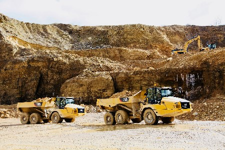 Cat redesigns three new articulated trucks