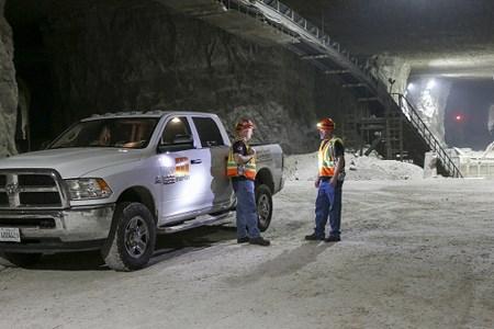 Martin Engineering controls dust emissions at underground limestone mine