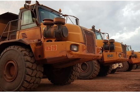 CRT supplies Magna M-Terrain tyres to customer in DR Congo