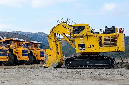 Solntsevsky mine site receives additional equipment
