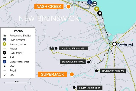 Callinex files report on Nash Creek project