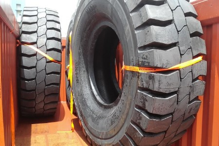 Magna Tyres ships first batch of mining tyres to Asian contractor