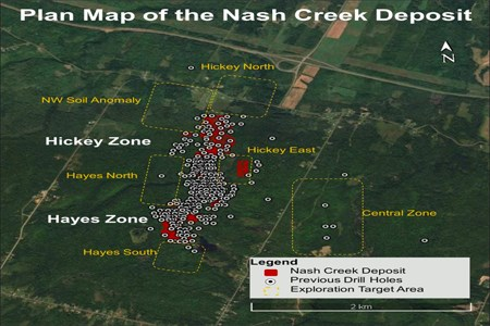 Callinex provides exploration update for Nash Creek Zinc project
