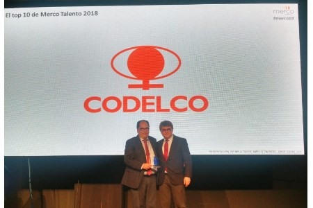 Codelco consolidates its position as most attractive company to work for in Chile