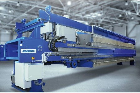 ANDRITZ develops new iron ore filter press