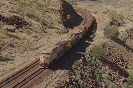 Rio Tinto: world's first delivery of iron ore by autonomous train