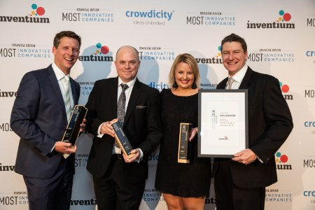 GroundProbe comes first place on Australian Financial Review's List of Most Innovative Companies