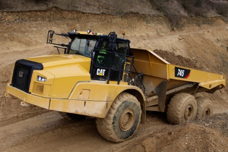 Cat manufactures 50 000th articulated truck