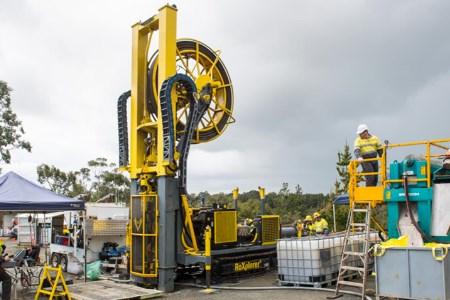 Revolutionary new drill rig licensed to IMDEX