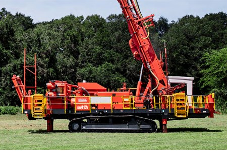 Sandvik introduces DR412i blasthole drill to Australia