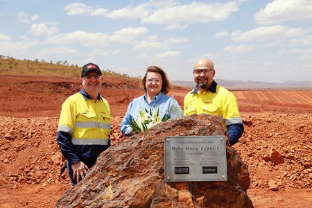 New mine opens at Hope Downs
