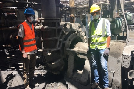 Weir pump used in Mauritania copper mine for past 12 years