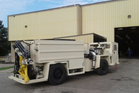RCT to supply Getman with custom solution for A64HD Water Cannon