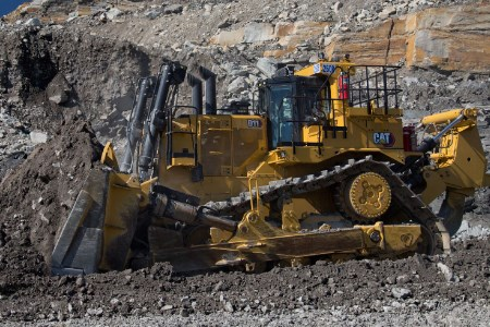 New Cat D11 Dozer moves more material at lower cost per tonne