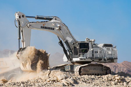 Liebherr updates R 9100 B and R 9150 B machines