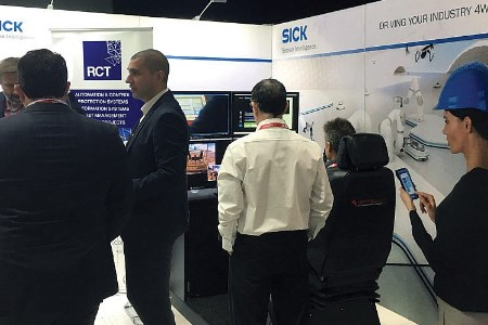 RCT automation systems on show at IMARC