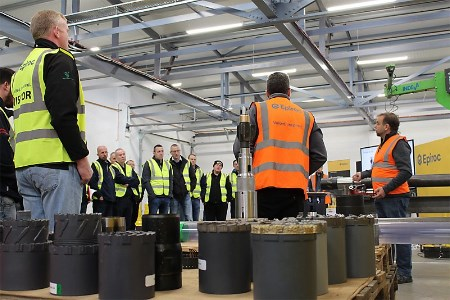 Epiroc holds successful geotechnical customer training day