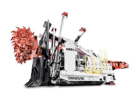 Sandvik to supply mechanical cutting machines to SUEK