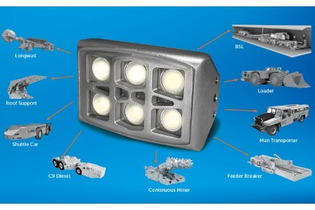 Nautitech lighting system suitable for mine applications