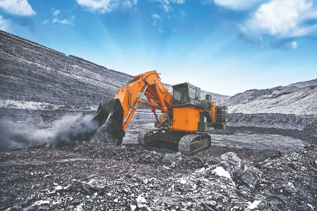 New EX-7 mining excavators from Hitachi provide next-level fuel efficiency