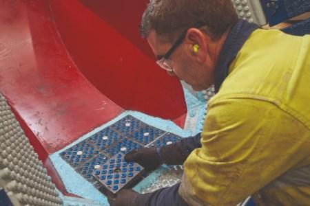 FLSmidth reveals new FerroCer 22 wear panels designed for longer wear life