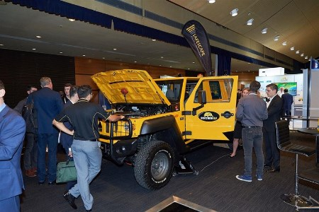 Safescape unveils prototype electric vehicle to the mining industry