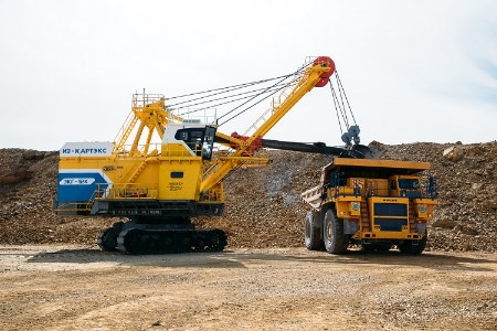 IZ-KARTEX continues to supply shovels to Mongolia