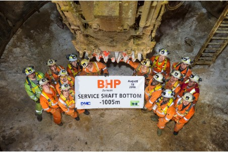 2018: Mechanised shaft sinking technology SBR proves itself in Canada