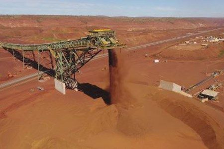 Fluor celebrates contribution to BHP South Flank's first ore