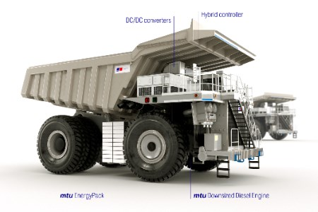 Rolls-Royce and Flanders Electric to develop hybrid mining trucks